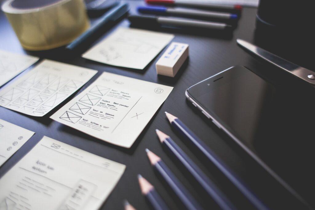 Projektowanie UX na kartkach